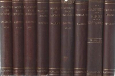 George MacDonald's Spirtual Mentor--17 Vol Complete Works of F.D. Maurice