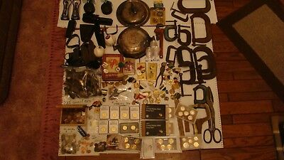 Junk Drawer Old Coins, Proof Coins, Silver, C clamps. Other Tools And Stuff