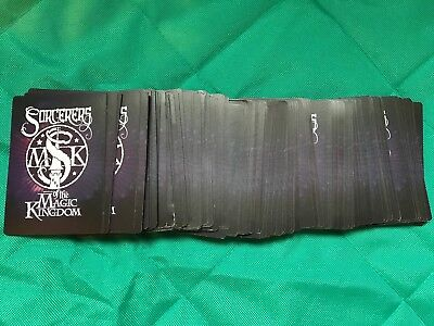 Disney Sorcerers of the Magic Kingdom Cards Complete Your Set U PIck New Star