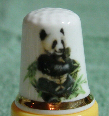 Very Nice Finsbury Fine Bone China Endangered Species Series Thimble