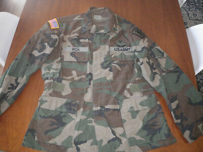 30th Medical Brigade BDU style NOMEX aircrew shirt,Complete with everything. 2
