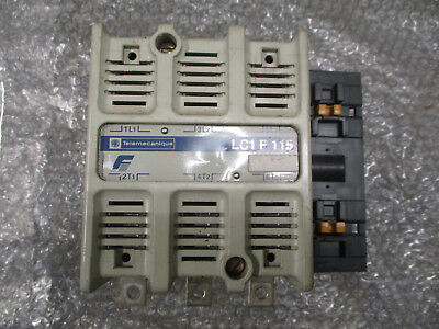 Telemecanique LC1F115 Motor Contactor 600V 175A continous 30kW to 65kW *Tested*