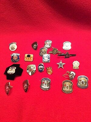 law enforcement pins collection state federal municipal