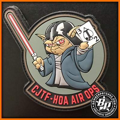 Combined Joint Task Force Horn Of Africa Air Operations Darth Yoda Pvc Patch