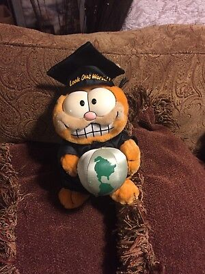 1978 Garfield Graduation Plush