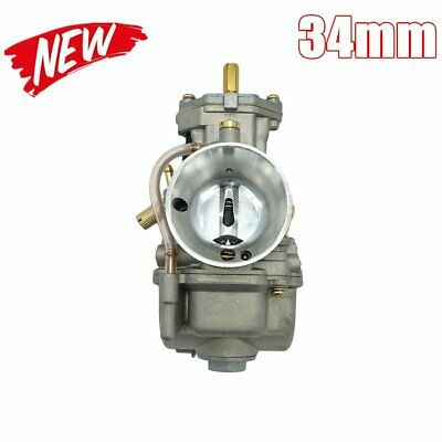 34mm Keihin PWK32 Motorcycle Carburetor 2T/4T Carbs Modified & Power LM