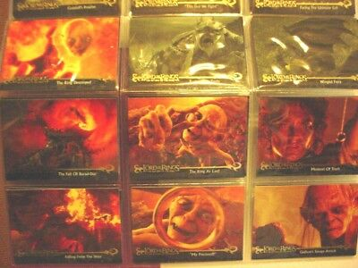 2003 Lord of the Rings-The Return of the King Cpl. Sets I-II (162)
