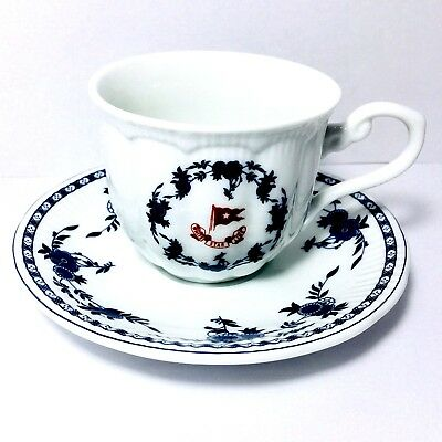 Titanic White Star Line Cup Saucer Teacup Authentic Artifact Collection Replica