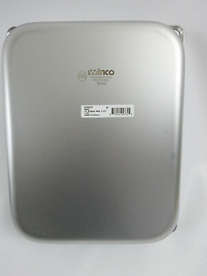 Winco SPH2, 2.5-Inch Deep Half Size Steam Table Pan, NSF LOT OF 2