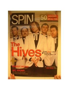 The Hives Poster Spin 50 Greatest Front Men Of All Time