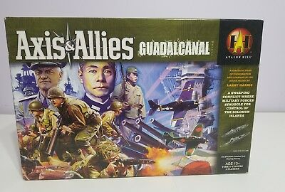 Axis and Allies Guadalcanal by Avalon Hill Board Game