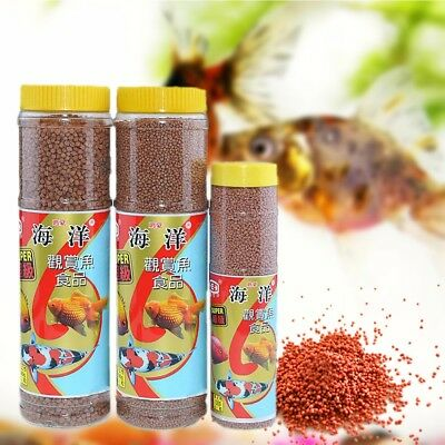 130g 280g Aquarium Tank FISH FOOD High tein Floating Feed for Tropical,Fish~