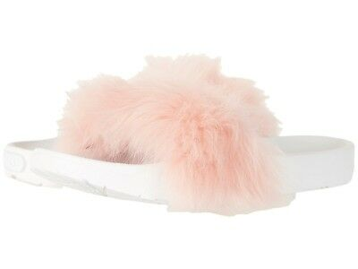 ugg royale womens baby pink fur slides mules shoes 10 new 29 99
