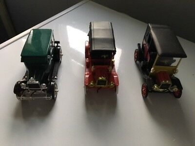 Lot of 3 National Motor Museum vintage Diecast cars 1:32 , See Description!!!
