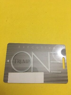Trump Taj Mahal Hotel Casino Executive Slot Players Card Atlantic City, NJ