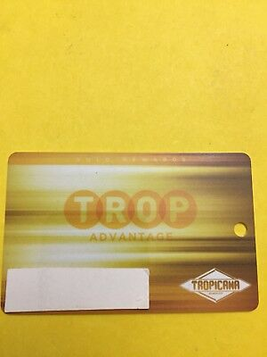 Tropicana Casino Resort Gold Players Card Atlantic City, NJ