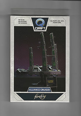 FIREFLY Alliance Cruiser QCraft Puzzle Model Dortmunder  Lootcrate #9