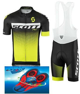"""Top Quality cycling set SCOTT RC PRO 9D GEL PAD """"FAST DELIVERY"""""""