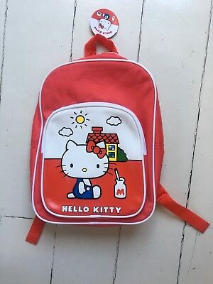 e1f8d7c8b5 HELLO KITTY VINTAGE Collection Red Backpack Bag - £17.00