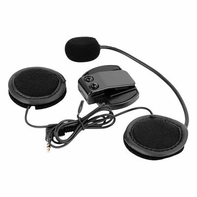 Earpiece Microphone Headset for Bluetooth 1200M V4/V6 Motorcycle Helmet Intercom