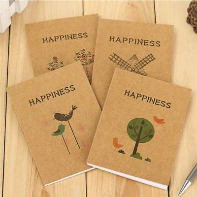 Chic Blank Pages BIG Notebook Journal Diary Note Book Hand Painted Blank Book