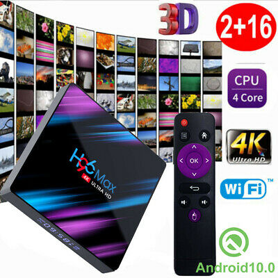 2019 MX10 4GB+64GB Android 8.1 Oreo TV BOX Quad Core USB 3.0 4K Media Player DE