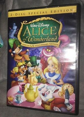 Alice in Wonderland (DVD 2010, 2-Disc Set Un-Anniversary Special Edition) Disney
