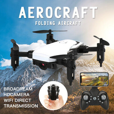 Mini Foldable With Wifi FPV 2.0MP HD Camera 2.4G 4-Axis RC Quadcopter Drone Toy