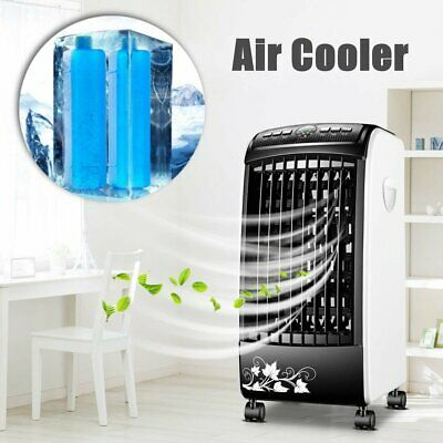 220V Portable Room Air Conditioner Indoor Cooler Fan Humidifier Conditioning 65W