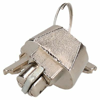 Trailer Hitch Security Lock for Knott Cast Couplings with 2 Keys