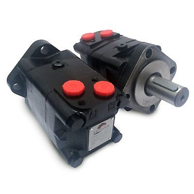 Hydraulic Motor (MSY Series) 100cc 125cc - 160cc - 200cc - 400cc , 32mm Shaft