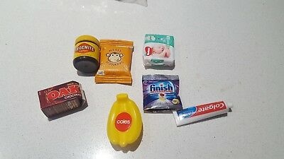 Coles Little Shop Mini Collectables .
