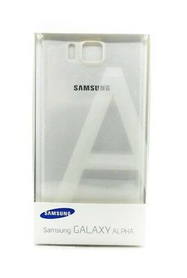 Genuine Samsung Battery Back Case Cover For Samsung Galaxy Alpha White New