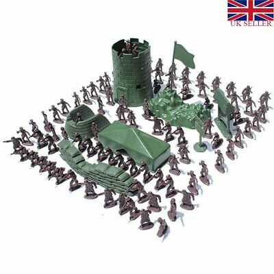 300-100X Soldier Kit Action Figures Military Army Men Sand Scene Model Boy ToyJD