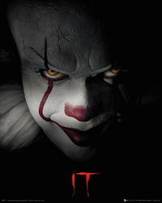 IT Pennywise Horror Movies Mini Poster Picture Print 40x50cm