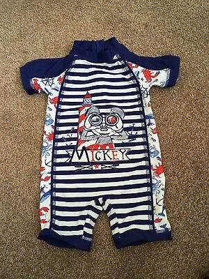 Baby Boys Swim Suit Aged 12-18 Months