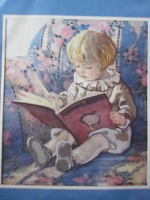 Favorite Book - Crewel Embroidery Kit - 1985 Dimensions #1296