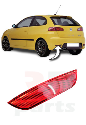 For Seat Ibiza Cupra, Cordoba 02 - 08 New Rear Bumper Reflector Left N/s