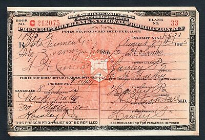 old prohibition prescription medical alcohol whiskey pharmacy doctor