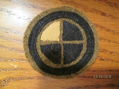 WWI US Army patch 35th  Division,139th Infantry patch AEF