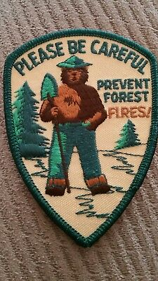 Please Be Careful Prevent Forest Fires  Patch