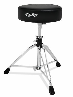 PDP Drum -  800 Series Drum Throne, Round Top Chrome Pddt800-04