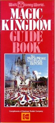 "Disney ©1987 Magic Kingdom Guide Book ""So Much More Than Ever Before"""