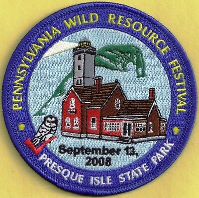 Pa Pennsylvania Fish Game Commission 2008 WRCF Presque Isle State Park Patch