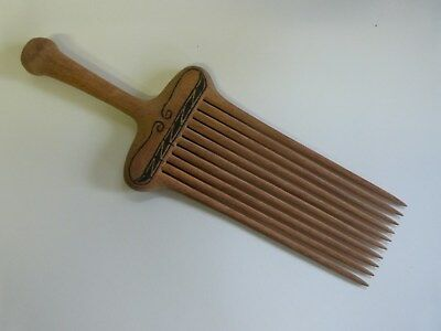 Antique African Wooden Comb
