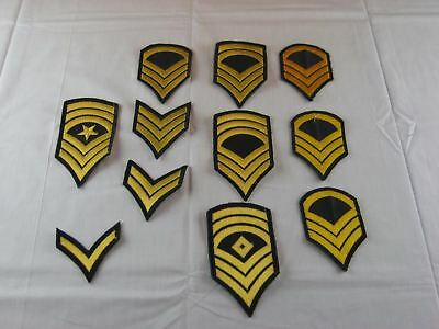 Huge Lot of US Military Armed Forces Patches USA American
