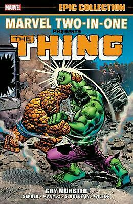 Marvel Two-in-one Epic Collection: Cry Monster by Walt Simonson Paperback Book F