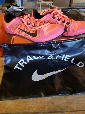 detailed look 88bfb 667a3 NIke Zoom Rival MD 7 Spike Men s Sprint Running Shoes 616312-600 Size 10  Pink