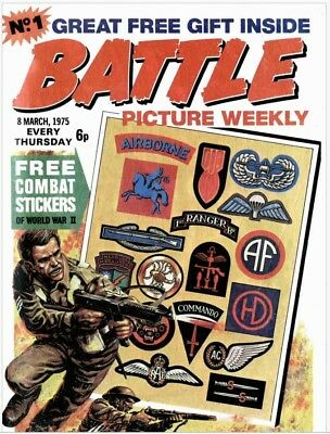 Uk Comics Battle Picture Weekly/battle Action Force Over 600 Comics On Dvd