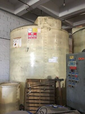 5200 & 6000 Gallon Vertical Flat Bottom Plastic Storage Tank